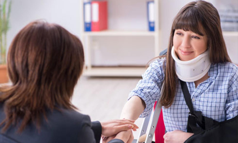 Injured Employee Visiting Lawyer